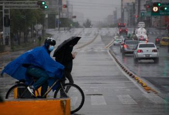Alerta amarilla por persistencia de lluvia en la CDMX