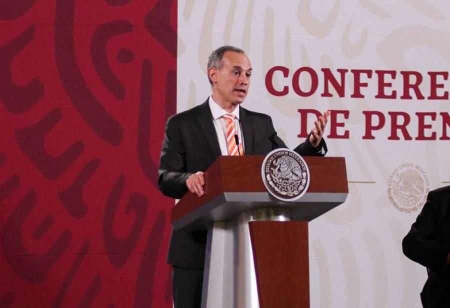 """López-Gatell: """"Pandemia no ha acabado, hay posibilidad de rebrote con temporada de influenza"""""""