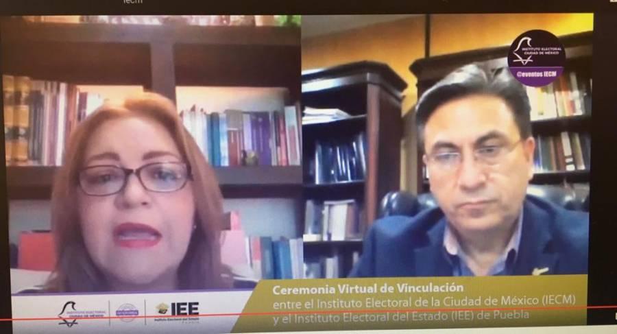 IECM asesorará al IEE de Puebla, en materia de certificación del ISO Electoral