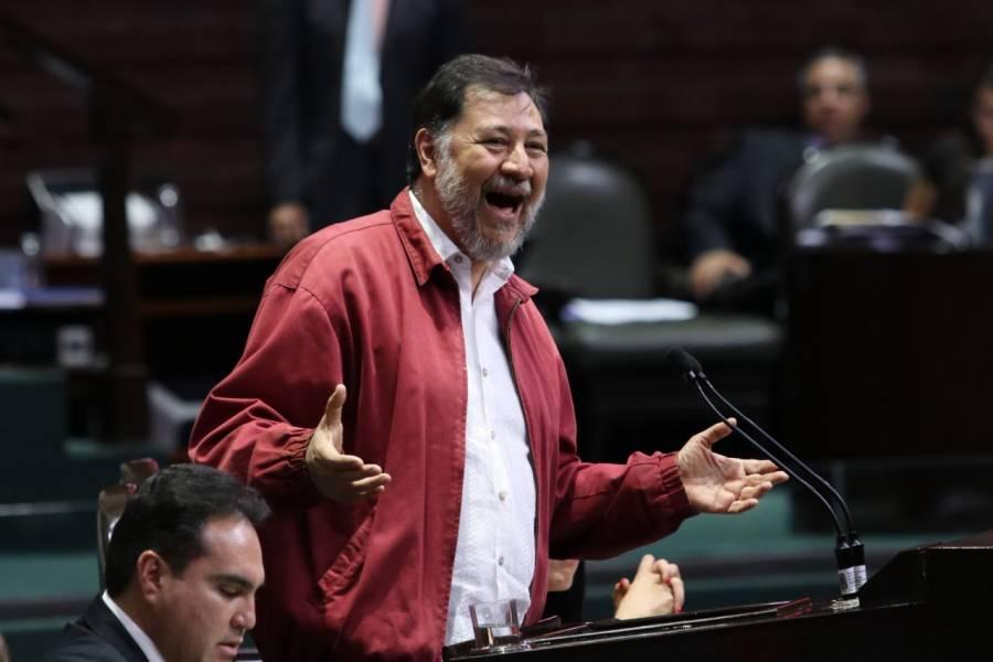 Diputados condenan agresión contra Fernández Noroña