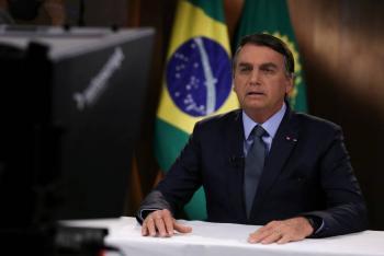 Bolsonaro defiende ante la ONU políticas ambientales de Brasil