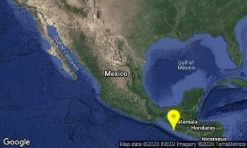 Reportan sismo magnitud 4.9 en Chiapas; descartan riesgo de tsunami