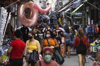 Brasil reporta más de 33 mil nuevos casos de COVID-19