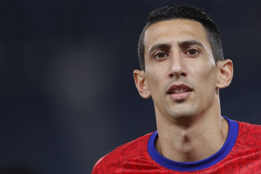 Di María suspendido cuatro juegos por escupir a jugador del Marsella