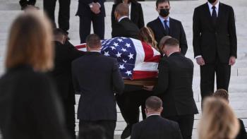 Rinden homenaje a Ruth Bader Ginsburg en la  Corte Suprema de Justicia