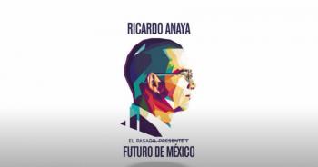 """Anaya presenta su libro """"El pasado, presente y futuro de México"""""""