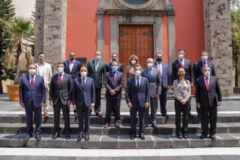 Herrera se reúne con Conago; preocupa liquidez a gobernadores