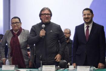Afirma diputado que difusión en bardas en Coyoacán no tiene fines proselitistas ni electorales