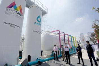 Del Mazo pone en marcha obra hidráulica en Neza