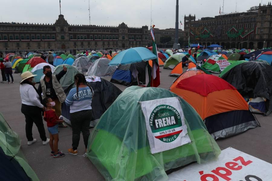 Canacope pide a FRENAAA reconsiderar plantón por afectaciones a negocios