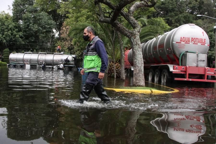 MÁS DE 1,600 DAMNIFICADOS POR LLUVIAS EN LA CIUDAD DE MÉXICO