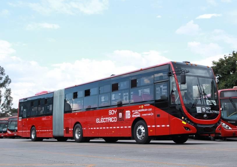 GobCDMX presenta el primer autobús eléctrico para el Metrobús