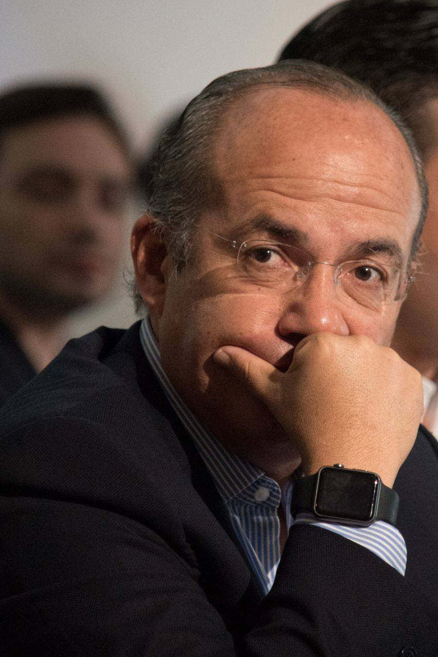 Guerra contra el narco no se puede ganar: Calderón (2011)