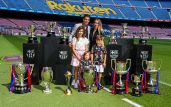 Luis Suárez se despide del Barcelona entre lágrimas