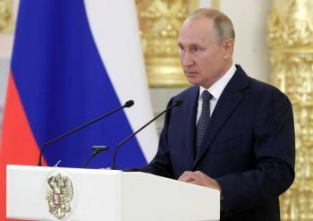 Vladimir Putin es nominado al Premio Nobel de la Paz