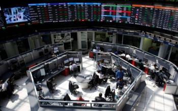 Bolsa mexicana gana tras caer a peor nivel en cinco meses, atención a Banxico