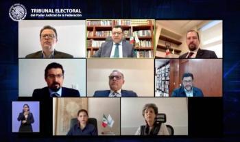 Valida TEPJF lineamientos del INE para renovación en Morena