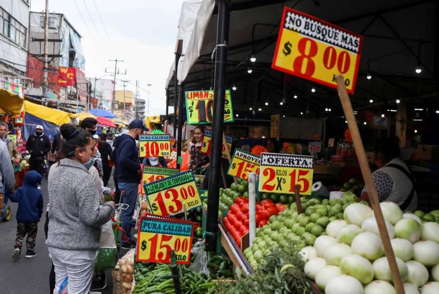 Inflación de septiembre en 4.10%, reporta Inegi