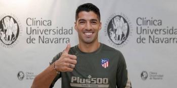 El Atlético de Madrid hizo oficial la llegada de Luis Suárez