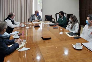 Trabajan Gobierno de Jalisco e IMSS en estrategia conjunta para la reconversión hospitalaria de la entidad