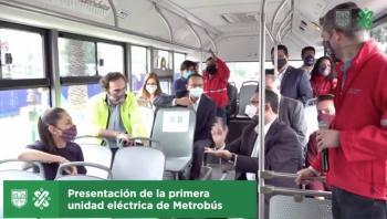 INICIA METROBÚS ELÉCTRICO EN LA CDMX