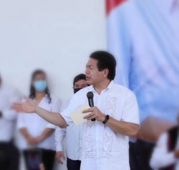 Mario Delgado pide a morenistas estar unidos y evitar descalificaciones