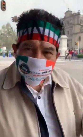 """""""AMLO es traidor y me mandó a matar""""; Juanito se une a FRENAAA"""