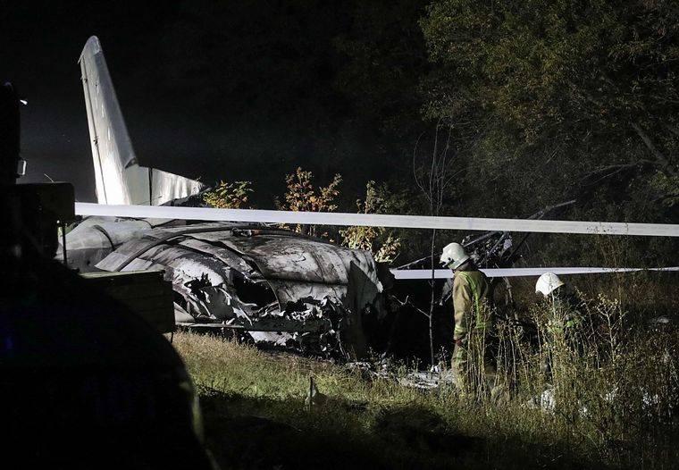 Al menos 22 muertos en caída de avión militar en Ucrania