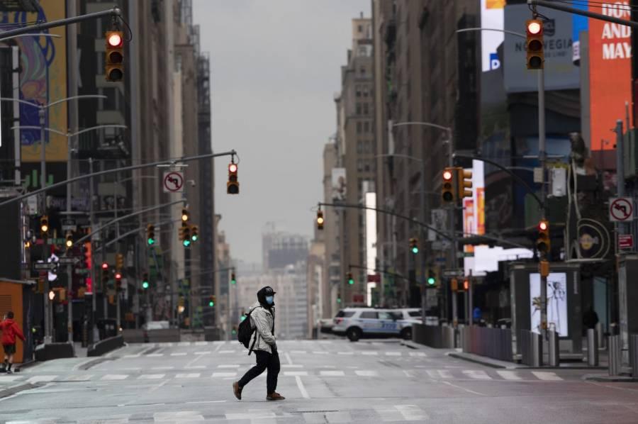 Nueva York registra más de mil casos por Covid-19 en un día
