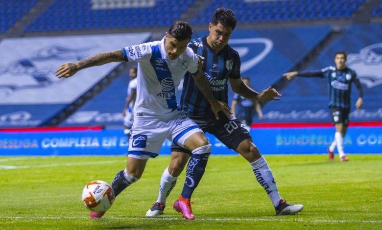 El Puebla rescata agónico empate frente a Querétaro