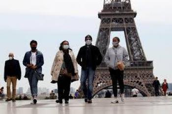 Registran 14 mil 412 contagios en 24 horas por Covid-19 en Francia