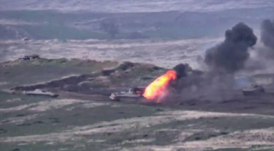 Armenia y Azerbaiyán intensifican choque armado en frontera