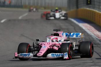 Checo Perez logra el cuarto sitio en el GP de Rusia