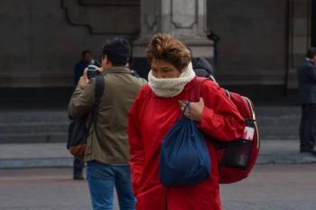Frente frío 4 llega a México acompañado de lluvias y bajas temperaturas
