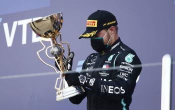 Bottas gana Gran Premio de Rusia tras penalización a Hamilton