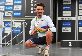 Julian Alaphilippe gana Mundial de Ciclismo en carretera