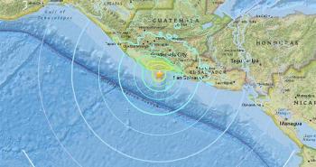 Sismo de magnitud 5.5 remece el suroeste de Guatemala