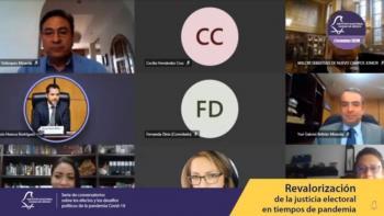IECM concluye conversatorios virtuales sobre la pandemia y sus efectos en la función electoral