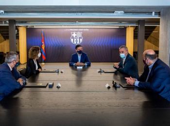 Junta del Barcelona crea mesa para validar firmas de moción de censura
