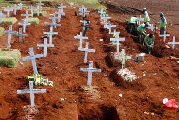 Supera el millón de fallecidos por Covid en todo el planeta