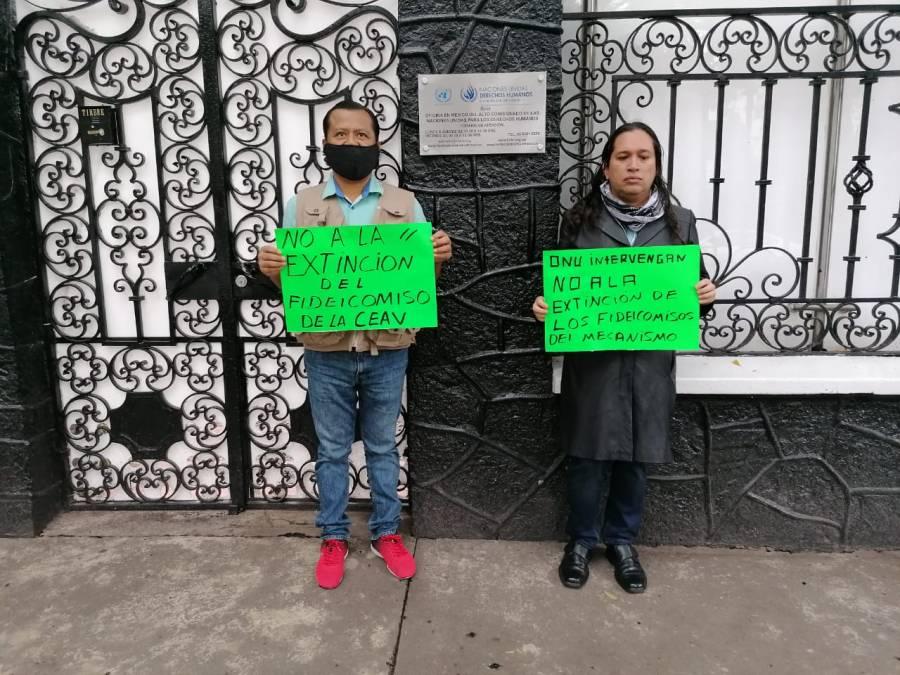 ACUDEN A ONU PERIODISTAS DESPLAZADOS PARA FRENAR DESAPARICIÓN DE FIDEICOMISOS DE PROTECCIÓN A VÍCTIMAS Y PERIODISTAS