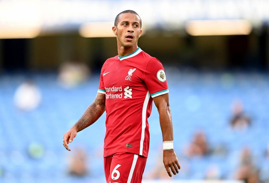 Thiago Alcántara del Liverpool, positivo a COVID-19