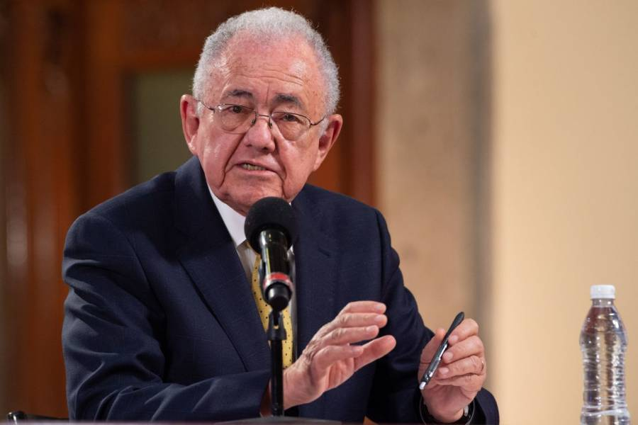 Muñoz Ledo, el ideal para Morena, asegura Jiménez Espriú