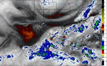 Frente frío número 4 ocasionará lluvias intensas en México