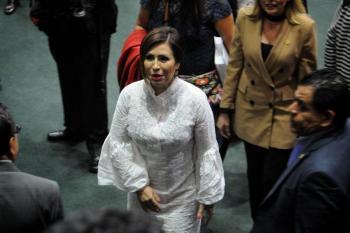 Rosario Robles se declara formalmente inocente y acusa a la FGR de presiones