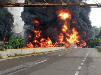 Explota pipa en Paraíso, Tabasco; registran 4 muertos