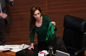 """El trapo verde es la muerte"": Lilly Téllez desata polémica en redes sociales"