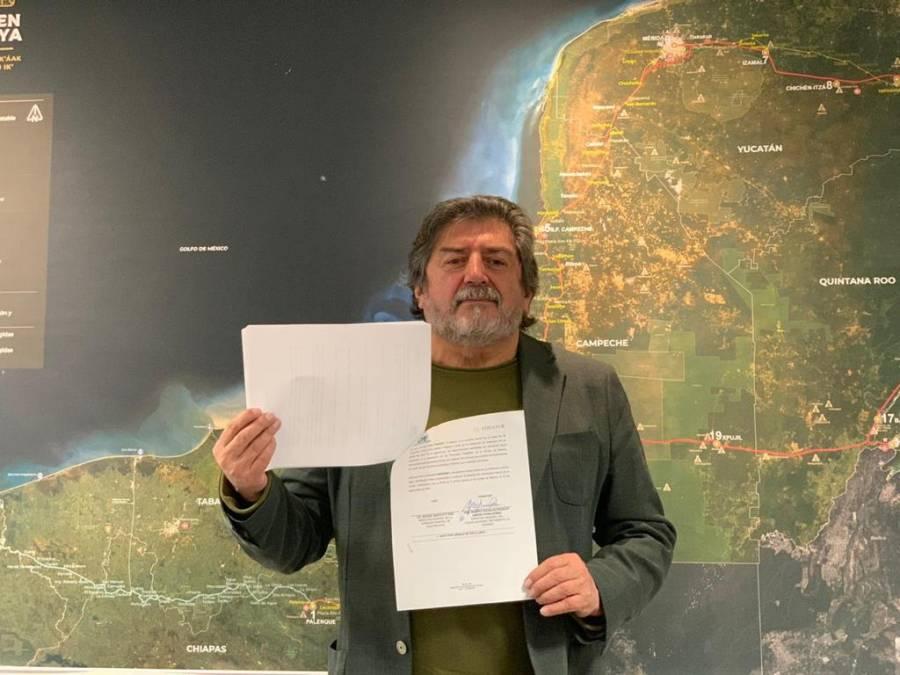 CFE y Fonatur colaborarán para electrificar ruta de Tren Maya