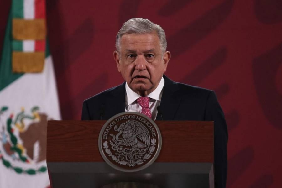 AMLO asegura que con consulta ciudadana no se violan derechos de ex presidentes