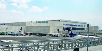 Ligero aumento de pasajeros en el AICM